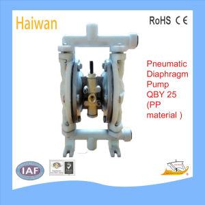Câmara Pneumática química/ Bomba de diafragma Operada por Ar PP para chorume, Impureza (QBK)