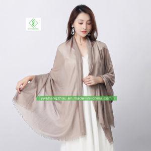 Coton ordinaire Handfeel châle doux Fashion Lady Écharpe de haute qualité