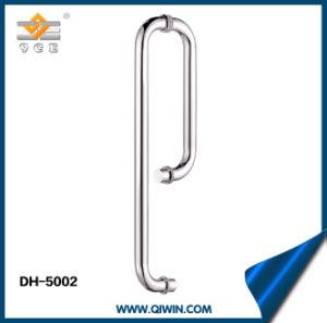 Het Handvat van de Deur van de Montage van het Glas van het roestvrij staal voor het Gebruik van de Badkamers (dh-5002)