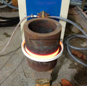 販売のための鋼鉄鋼片の鍛造材の誘導加熱装置