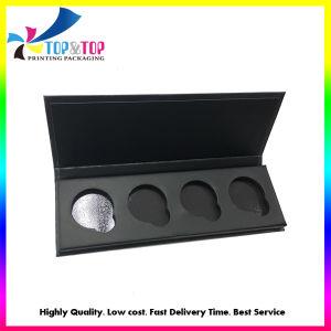 Полный цветной печати черного цвета палитры Eyeshadow упаковка косметики подарочная упаковка бумаги