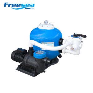 Swimmingpool-Filter-System einschließlich Sandfilter u. Wasser-Pumpe