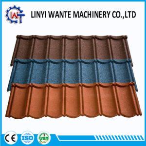 とらわれのタイプアルミニウム亜鉛鋼板の建築材の屋根瓦
