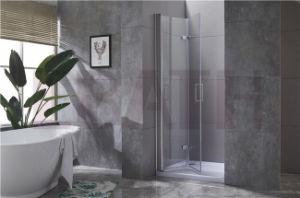 Casa de banho com duche Receptáculo: Pé no gabinete de chuveiro