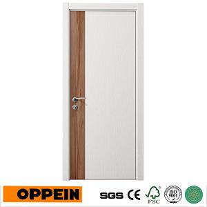 простой дизайн Oppein белый меламина деревянные двери салона