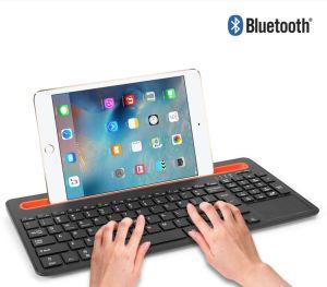 Teclado Bluetooth sem fios de canal duplo para o monofone do smartphone Tablet