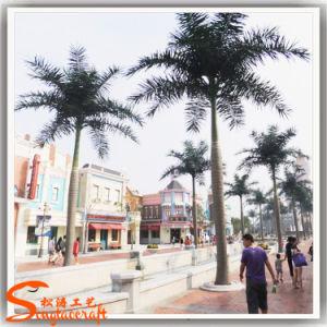 De Decoratie van de tuin met Kunstmatige Palm Roystonea voor Openlucht