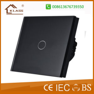 Fernsteuerungsschalter-Noten-Glaspanel-Wand-Licht-elektrischer Schalter
