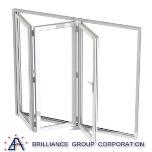 バルコニーのための緩和されたガラスの折るWindows