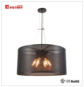 Iluminação interior moderno pingente Redondo iluminação com homologação CE