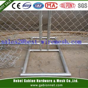 Temporärer Aufbau-Kettenlink-Zaun/entfernbarer Kettenlink-Aufbau-Zaun