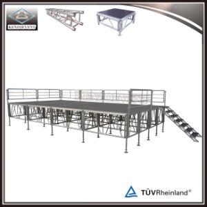 Portátil de aluminio fase Fase móvil para el evento de rendimiento al aire libre