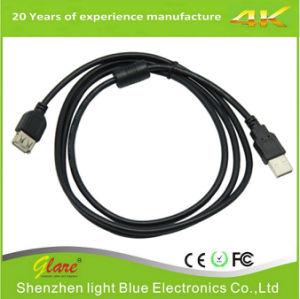 Courte longueur 15cm de câble du chargeur micro USB