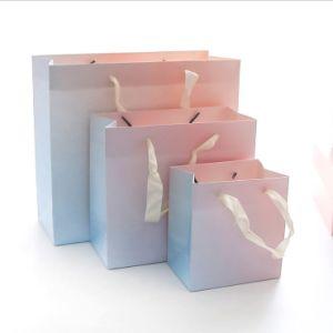 형식 장식용 포장 쇼핑 종이 봉지
