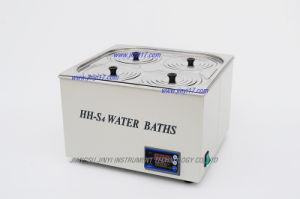 Bagno d'acqua termostatico del laboratorio di Quattro-Apertura di Due-Riga di HH-S4 Digitahi