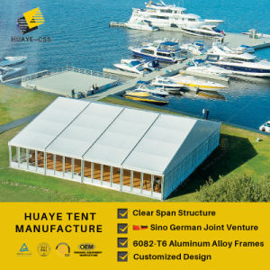 Huaye herrliches Dekoration-Hochzeits-Schauplatz-Zelt für Verkauf (hy522b)