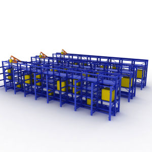 Le meilleur de l'entrepôt de stockage à froid du système de rayonnage à palettes