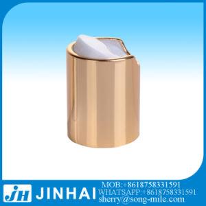 L'aluminium Gold Disc bouchon supérieur Appuyez sur le capuchon avec fermeture en métal