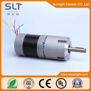 Eléctrico permanente de alto par motor de engranajes de CC CC