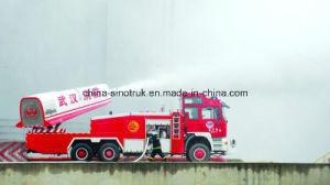 16m-300mの高さのHOWOの空気タービンの射撃戦のトラック/消防車