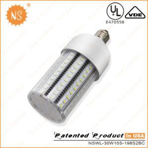 VDE TUV listados 30W milho LED de luz para iluminação interior