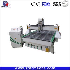 Il vuoto dell'asse di rotazione 6kw di raffreddamento ad aria adsorbe l'incisione del legno che intaglia il router di macinazione di CNC di taglio