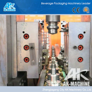 0.2L-2L plástico totalmente automático da máquina de moldagem por sopro de garrafas PET (AK-Q60)
