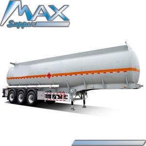 Aluminiumlegierung-Brennstoff-Tanker-halb Schlussteil der Wellen-40000L 3