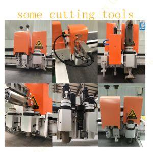 Fibra de aramida máquina de Corte Padrão plotter de corte CNC com marcação preço de fábrica