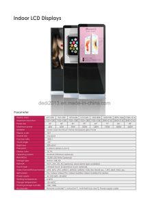 556575 LCD suporte para TV à prova de publicidade exterior Quiosque Totem 2000nits Exibir