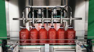 자동적인 식용 기름 해바라기 기름 충전물 기계 병 충전물 기계