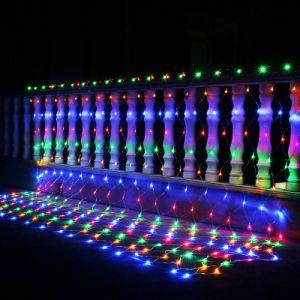Las luces de Navidad al aire libre Red LED de luz para Boda