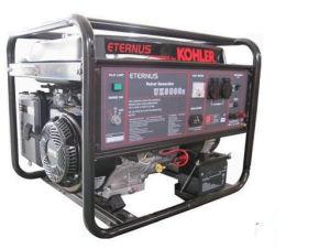 6kw 6KVA 삼상 홈 사용 쾰러 엔진 가솔린 (휘발유) 발전기 (Bk8000dxe)