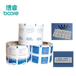 Impresión personalizada OEM el papel de aluminio el papel del embalaje antiestático para toallitas húmedas secas de gafas