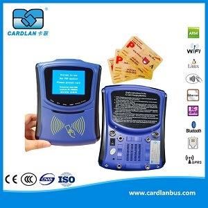 13.56MHz One-Card Urbana POS RFID máquina suporta GPRS e WiFi de transmissão de dados