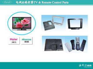 Moldes de injeção para veículo, Mobile TV, Peças de plástico do Shell