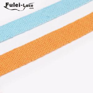최신 판매 줄무늬 면 가죽 끈