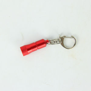 Kogel van 1 LEIDEN Licht dat van Keychain wordt gevormd