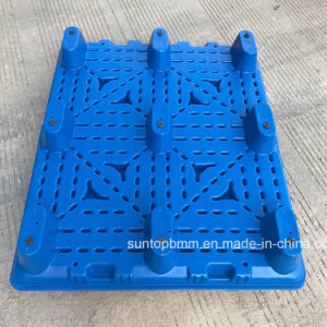 Moldagem por sopro azul reciclado a logística de paletes de plástico