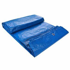 4mx6m 파랑 색깔에 의하여 강화되는 PE 직물 방수포