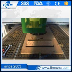 Macchina ad alta velocità di CNC di falegnameria dell'asse di rotazione di raffreddamento ad acqua