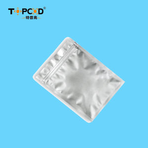 Ziplock plana de aluminio de la bolsa de embalaje para la electrónica (14C~20C)