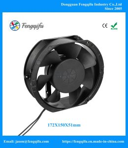 172mm 172X150X51mm 12V 24V 48V Gleichstrom-schwanzloser Kühlventilator
