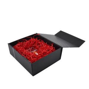 주문 로고에 의하여 인쇄되는 마분지 접히는 서류상 선물 포장 상자