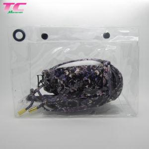 Saco Plástico impermeável transparente personalizados roupa molhada claro PVC/EVA Ziplock Saco de embalagem com o reforço de calções de banho