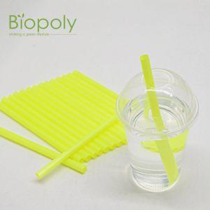 Amigo do ambiente 100% Compostável biodegradável PLA bebendo palhetas coloridas