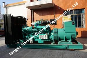 1100kw 1375kVA Ccec Cummins Kta50-G3のSiemensの交流発電機ISO 8528の標準のディーゼル発電機の工場