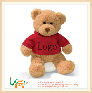 Logo personnalisé doux jouet en peluche Ours en peluche cadeau promotionnel