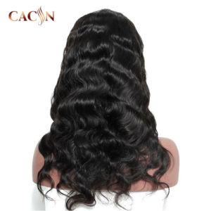 Venda por grosso de longa Natural índio brasileiro Virgem Remy Mulheres de cabelo humano Peruca Lace Peruca Dianteiro