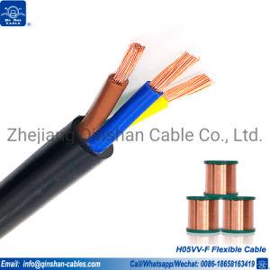 5cx1.5mm 5cx2.5mm 5cx4.0mm 5cx6.0mm isolant en PVC souple Câble d'alimentation